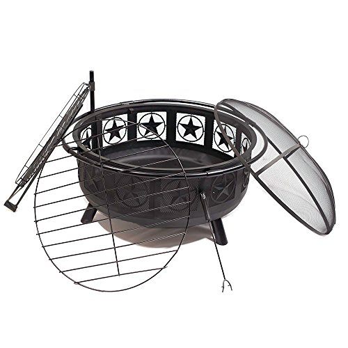 Sunnydaze-30-Inch-Stars-and-Moons-Wood-Burning-Fire-Pit-with-Wood-Grate-and-Spark-Screen