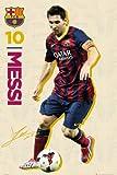 Gb eye messi : fc barcelone poster grand format 61 x 91,5 cm