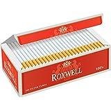 Roxwell Original Red 100's Cigarrette Filtered Tubes 10 Cartons