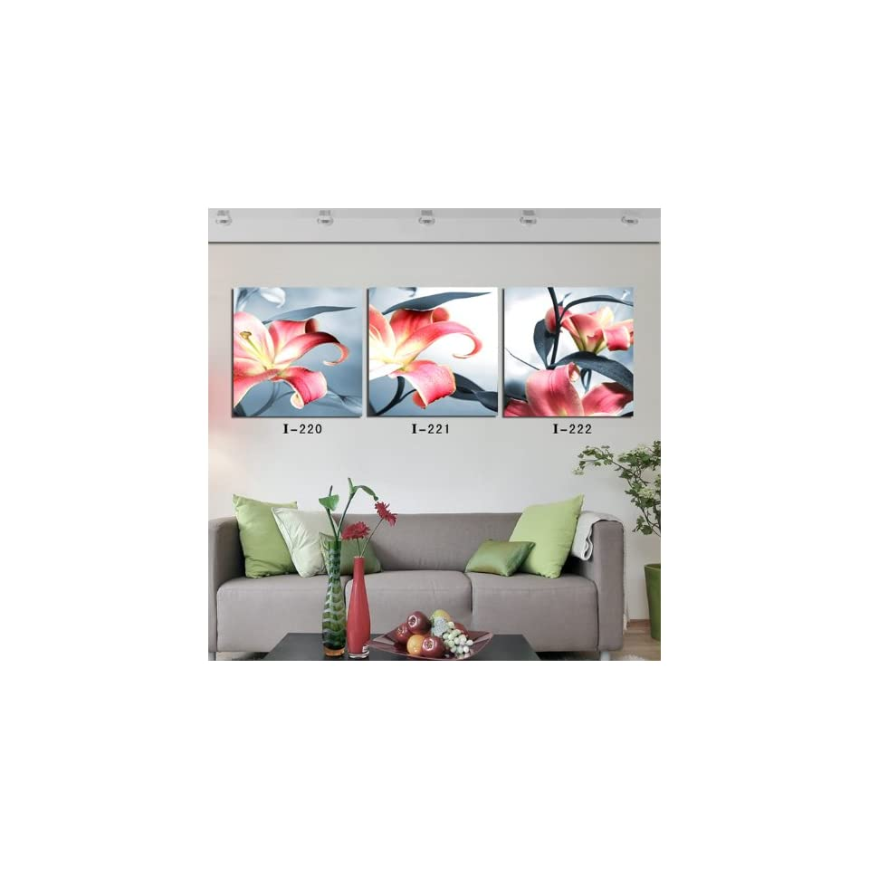 Modern Abstract Huge Wall Art Painting On Canvas 3 PCS (No Frame) ART 0073