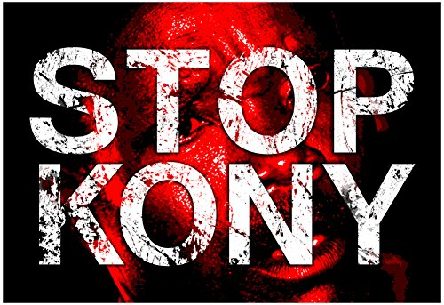 Stop-Joseph-Kony-2012-Face-Political-Poster-19-x-13in