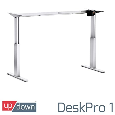 Up/Down DeskPro 1 [ FRAME ONLY ] [SILVER]