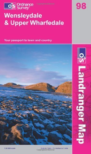 Wensleydale and Upper Wharfedale (OS Landranger Map) by Ordnance Survey (2009) Paperback