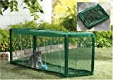Cat Outdoor Crawl Tunnel House Cage Pen