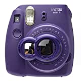 Nodartisan Close-Up Lens with Self-Portrait Mirror for Fujifilm Instax Mini 8/ 8+/ 7s (Grape)