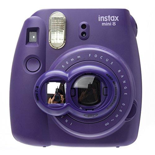 Nodartisan Close-Up Lens with Self-Portrait Mirror for Fujifilm Instax Mini 8/ 8+/ 7s (Grape) (Mini Instax 8 Grape Kit compare prices)