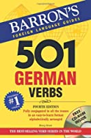 501 German Verbs with CD-ROM (Barron's 501 German Verbs (W/CD)) from Barron's Educational Series