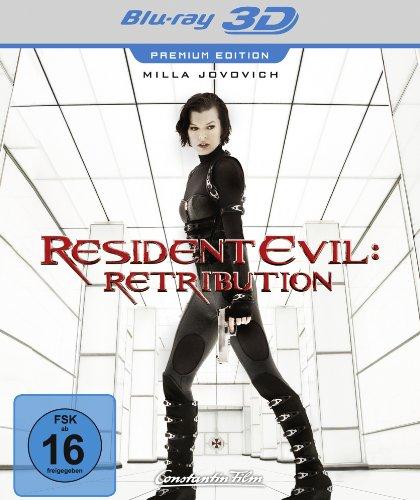 Resident Evil: Retribution - Premium Edition [3D Blu-ray]