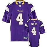 Reebok Minnesota Vikings Brett Favre Replica Team Color Jersey, XX-Large