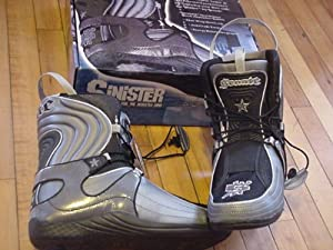 Senate Aggressive Skate Liners Sinister Size 10 Black Grey by Senate