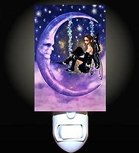 Fairy Moon Swing Decorative Night Light Home