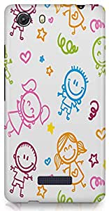 Micromax Unite 3 Back Cover by Vcrome,Premium Quality Designer Printed Lightweight Slim Fit Matte Finish Hard Case Back Cover for Micromax Unite 3