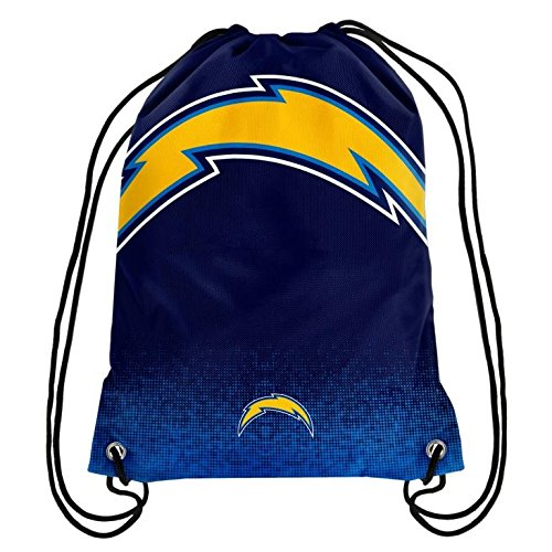San Diego Chargers Game Channel: NFL Football Team Logo Drawstring Backpack Bag