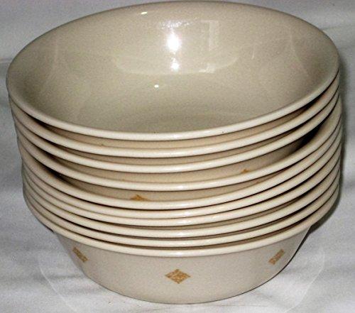 Corning Corelle Livingware Sandstone Beige Southwest 6 x 2 1/4 Inch Cereal Soup Bowls, Set of 10 (Corelle Beige Dishes compare prices)