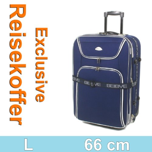 Blau 8006 Trolley Trolleys Koffer Reisekoffer