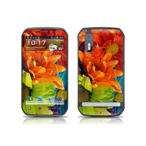 Colours Design Decorative Skin Cover Decal Sticker for Motorola Photon Cell Phone