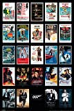 James Bond Movie Posters Montage Maxi Poster 91.5cm x 61cm