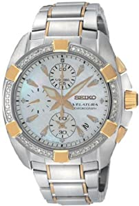 Women's Velatura White Mother Of Pearl Two Tone Stainless Steel