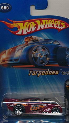 Hot Wheels #050 (2005 - First Editions) Torpedoes 10/10 Edition Willys Coupe (g6720) - 1