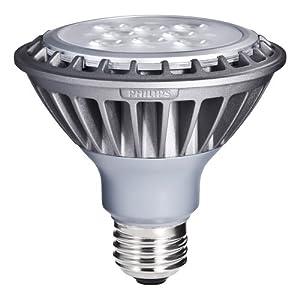 Philips 423442 13-Watt (75-Watt) AirFlux PAR30S LED 2700K (Warm White) Flood Light Bulb, Dimmable