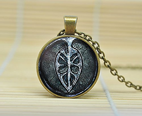 SunShine Day Way Of The Blue Dark Souls Ii Necklace Glass Cabochon Necklace A3209