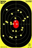 """12"""" X 18"""" Bulleye Splatter Targets 10, 25, 50 100 Packs See Your Hits Instantly"""