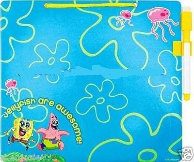 Spongebob Squarepants Blue Dry Erase Message Board Pen