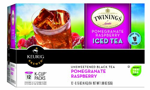 Twinings Pomegranate And Raspberry Keurig K-Cups, 12 Count front-64209