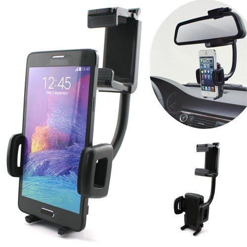 rear view mirror cell phone mount