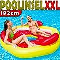 Riesige Poolinsel XXL