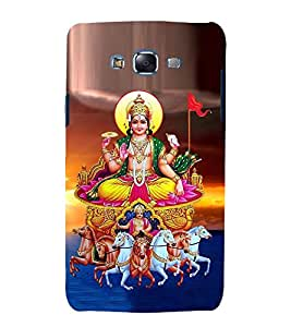 printtech Lord Goddess Devi Back Case Cover for Samsung Galaxy Core 2 G355H