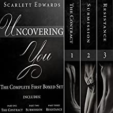Uncovering You: The Complete First Boxed Set (       UNABRIDGED) by Scarlett Edwards Narrated by Amy Johnson