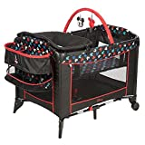 Disney Baby Mickey Mouse Silhouette Play Yard Pack N Play Crib Bassinett Newborn