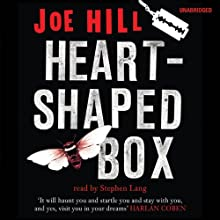 Heart-Shaped Box Audiobook by Joe Hill Narrated by Stephen Lang