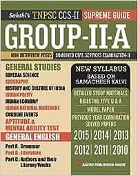 Tnpsc group 2 english books pdf