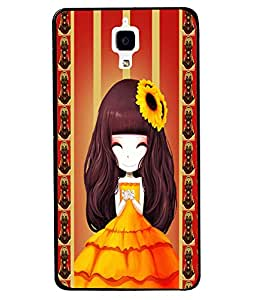 Fuson 2D Printed Girly Designer back case cover for Xiaomi Mi 4 - D4345