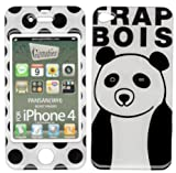 【iPhone 4 ケース/カバー Gizmobies(ギズモビーズ)】 PANSAN(WH) (iPhone 4)