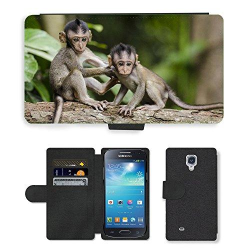 bunt-leder-tasche-pu-flip-case-fur-m00145639-monkeys-natur-tiere-babies-apes-samsung-galaxy-s4-mini-