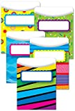 Creative Teaching Press Poppin Patterns Library Pockets (6918)