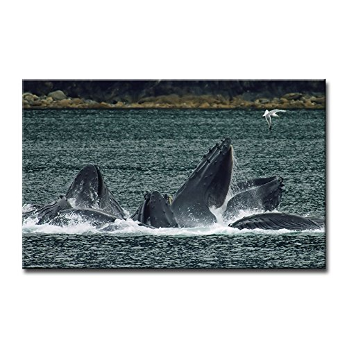 Wooden Whale Wall Art front-1056846