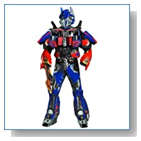 Optimus Prime Theatrical W Vacuform Plus 3D (X-Large)
