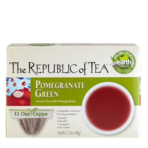 The Republic Of Tea Pomegranate Green Tea Single