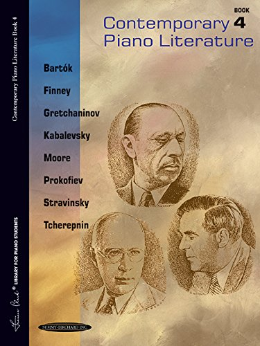 Contemporary Piano Literature, Bk 4 (Frances Clark Library for Piano Students)