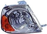 Depo 318-1106R-US Suzuki XL-7 Passenger Side Replacement Headlight Unit without Bulb