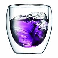 bodum Pavina ダブルウォール保温グラス0.25L 2個セット 4558-10