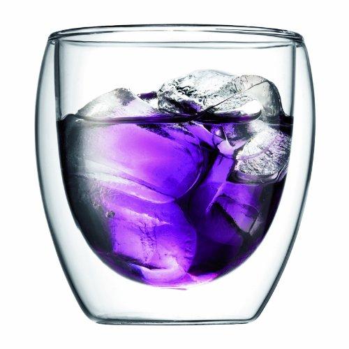 【正規品】BODUM ボダム PAVINA ダブルウォールグラス,0.25L,(2個セット) 4558-10J