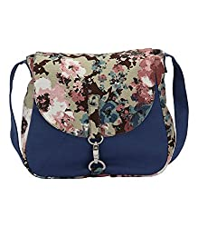 Vogue Tree Women's Sling Bag Blue Camoblu