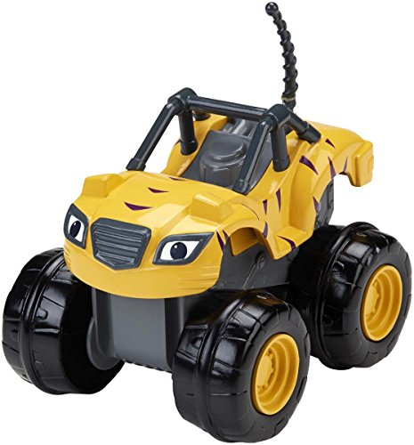 Blaze-y-los-Monster-Machines-Vehculo-SlamGo-Stripes-Mattel-CGK25