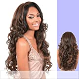 LS. OHIO (Motown Tress) - Synthetic Lace Front Wig in DARK BROWN