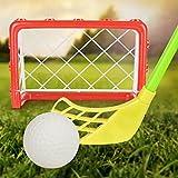 Juguetes Deportivo Interior Meta del Hockey Serie Redes Palos Bolas Niños